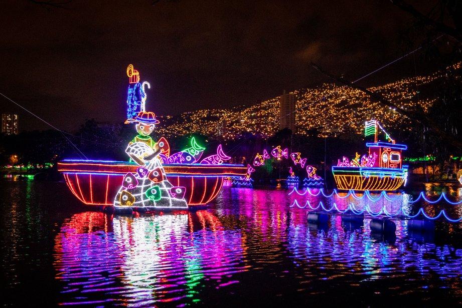 Lugares en Medellín para disfrutar de los alumbrados navideños