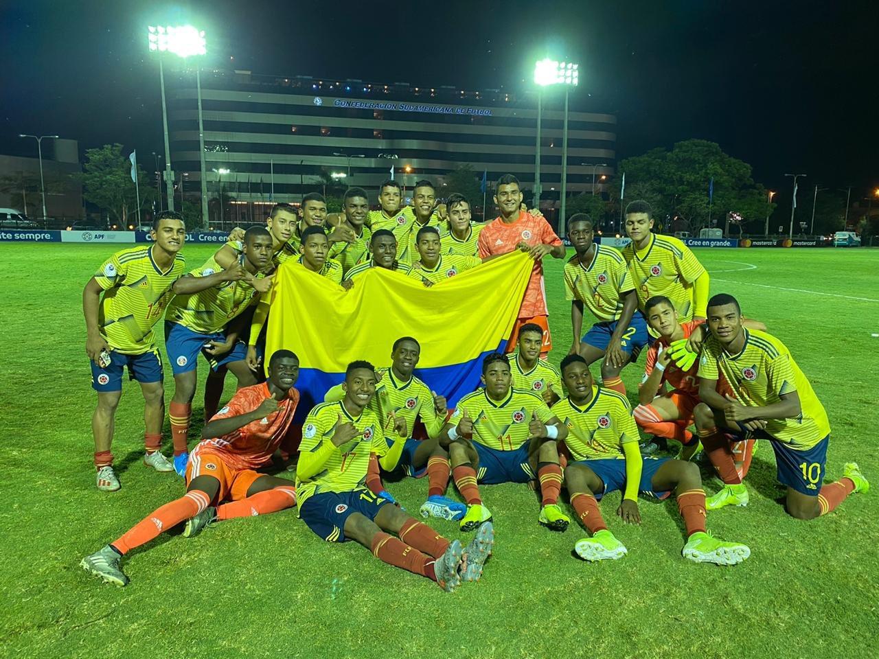 Argentina Sub15 vapuleó a Colombia y es finalista