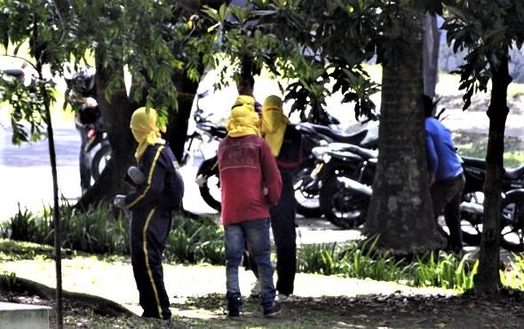 """En Medellín han sido detectados nueve grupos de """"encapuchados"""""""