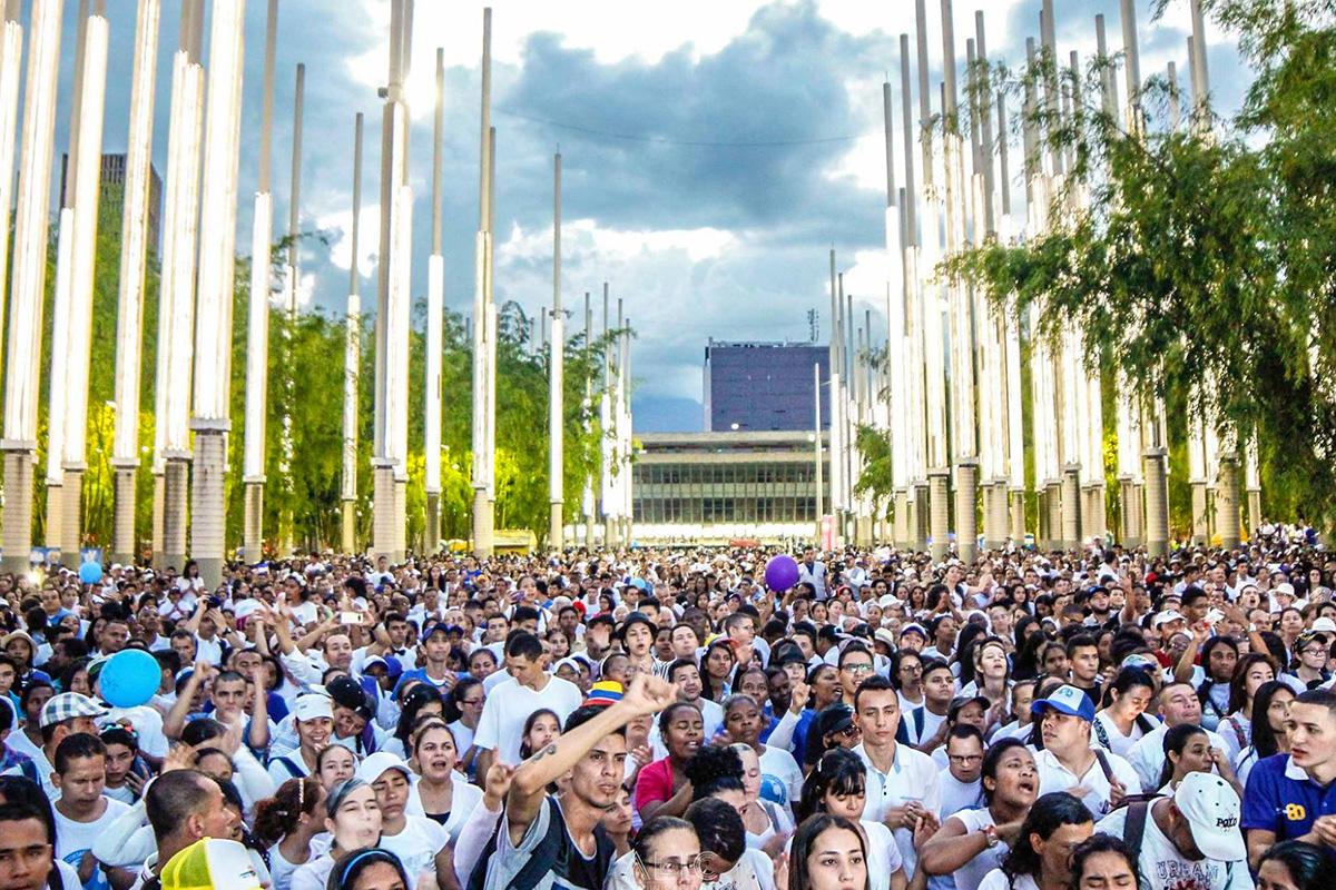 Este es el recorrido de las manifestaciones del miércoles en Medellín