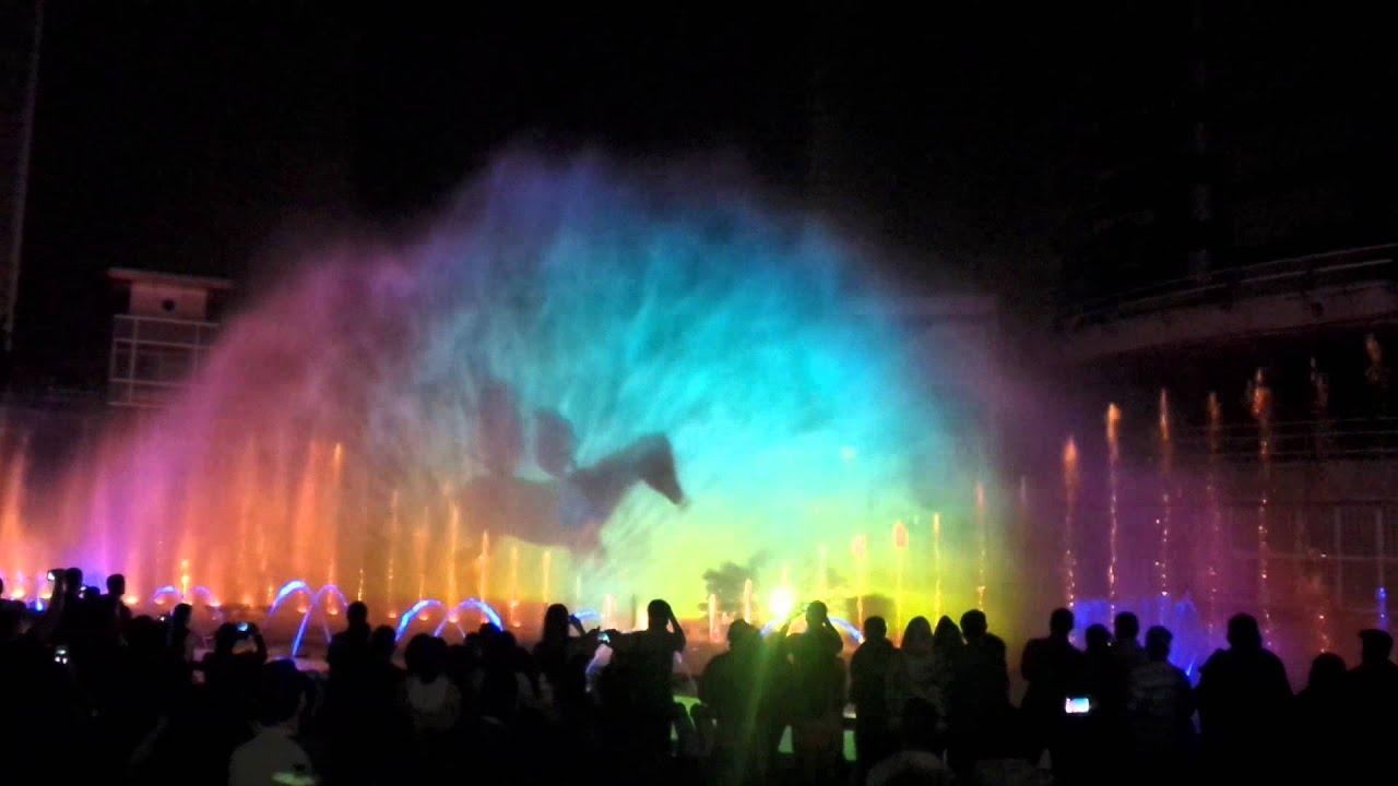 EPM encenderá nuevamente su pantalla de agua, luz y color