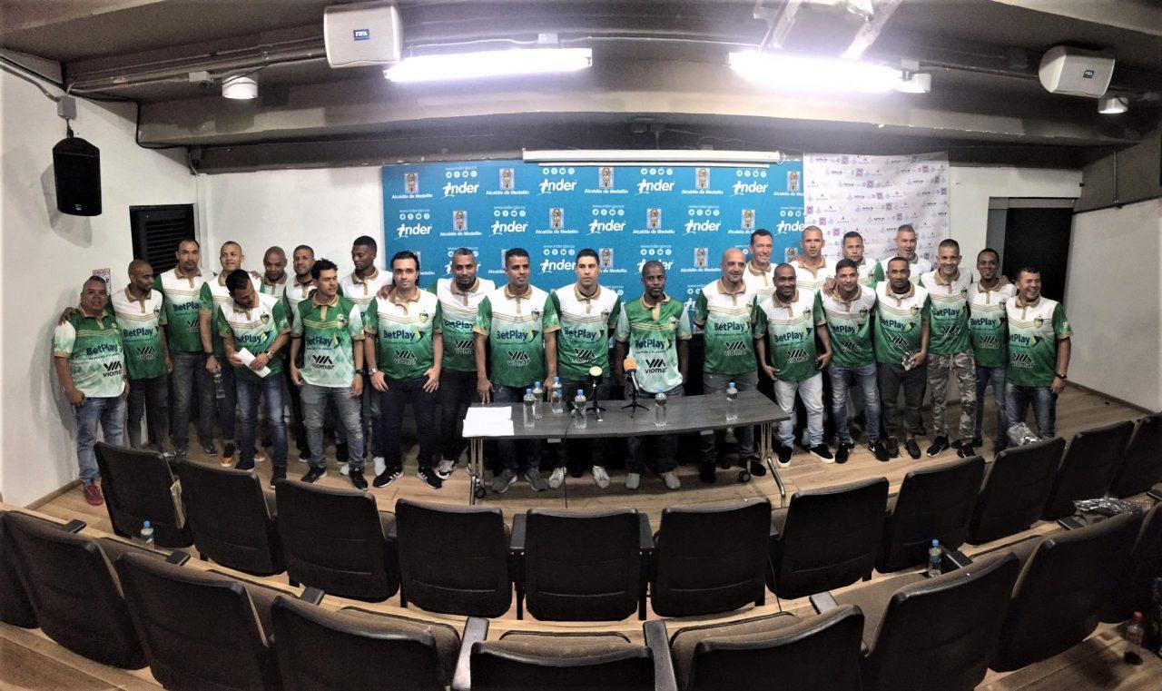 Fue presentada la Selección Antioquia Senior Máster