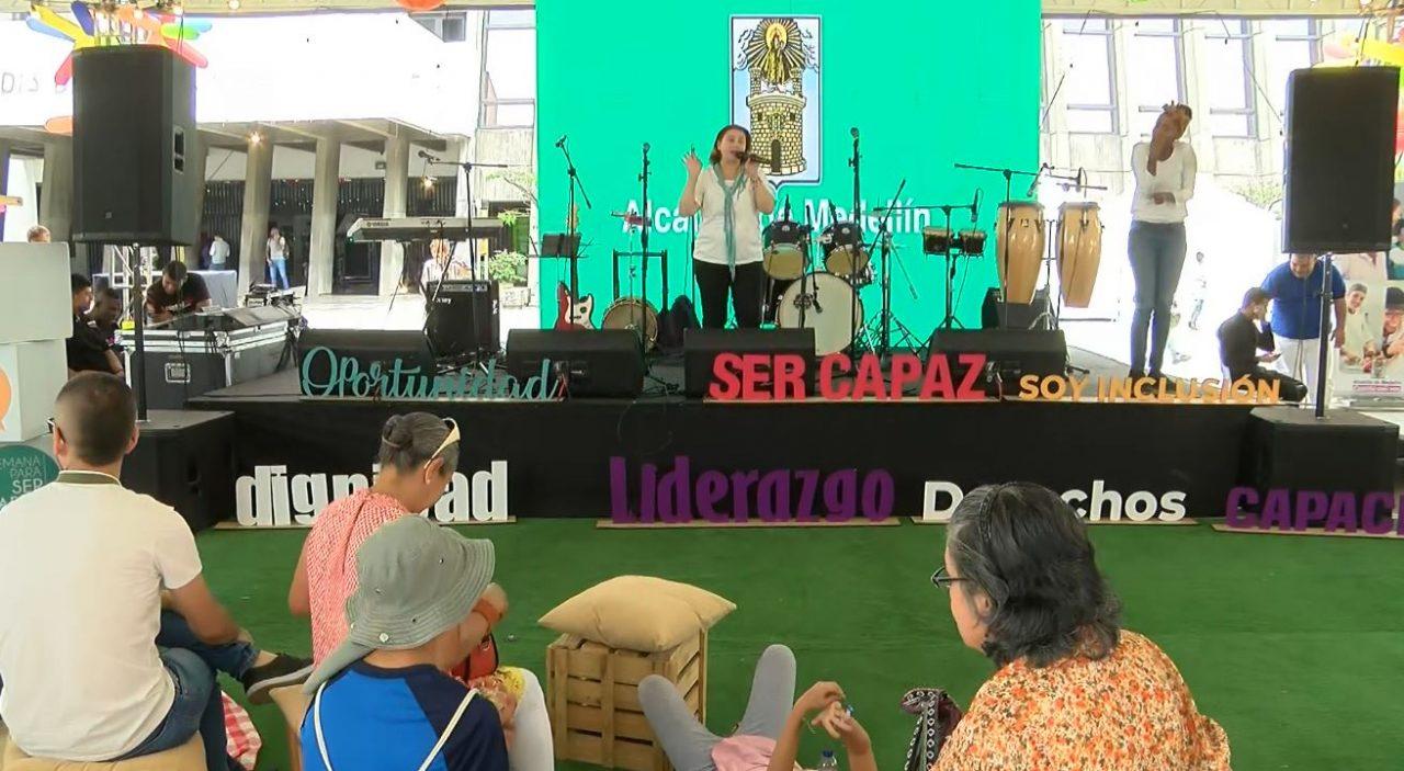 Finalizó el Festival Ser Capaz con actividades recreativas y emprendimientos