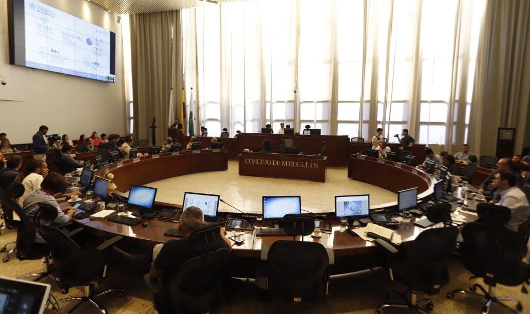 Hoy iniciaron los debates presenciales en el Concejo de Medellín