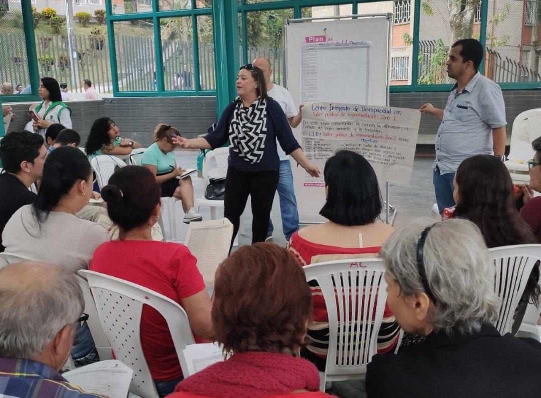 Terminaron los Encuentros Territoriales en Medellín