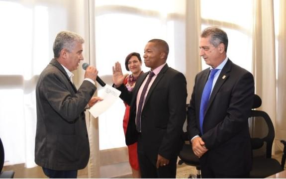 William Yeffer Vivas fue elegido como personero de Medellín