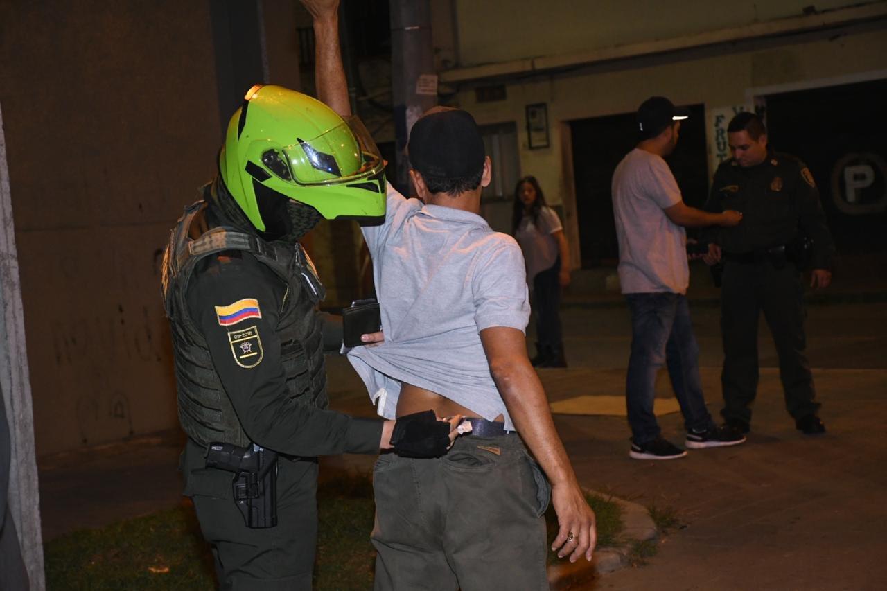 Megaoperativo en Itagüí dejó dos personas capturadas y 40 sancionadas