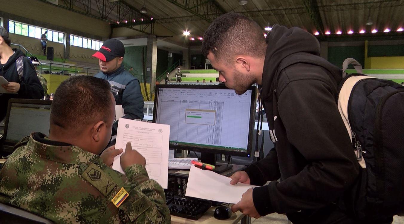 Realizan jornadas especiales para resolver situación militar en Antioquia