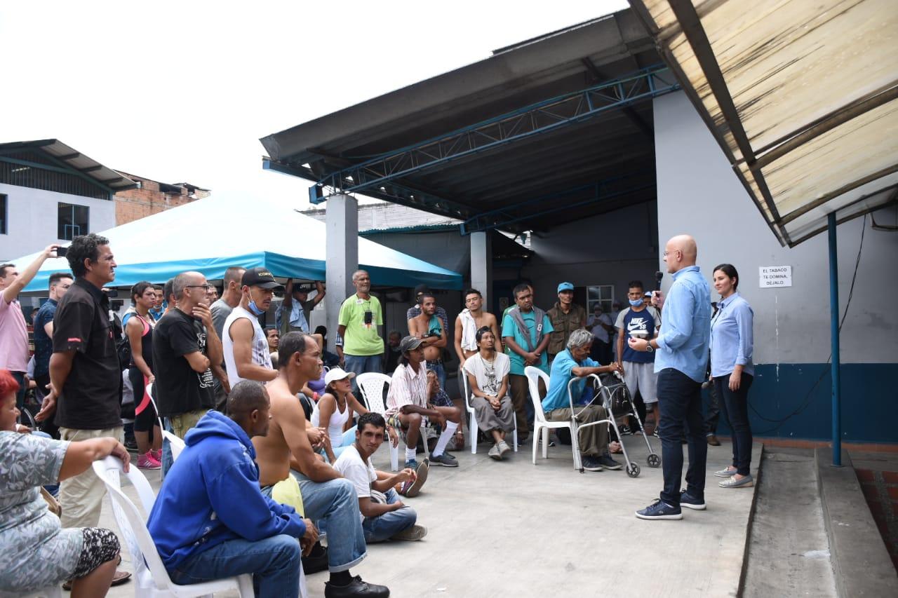 UdeA apoyará la atención integral a población de calle de Medellín