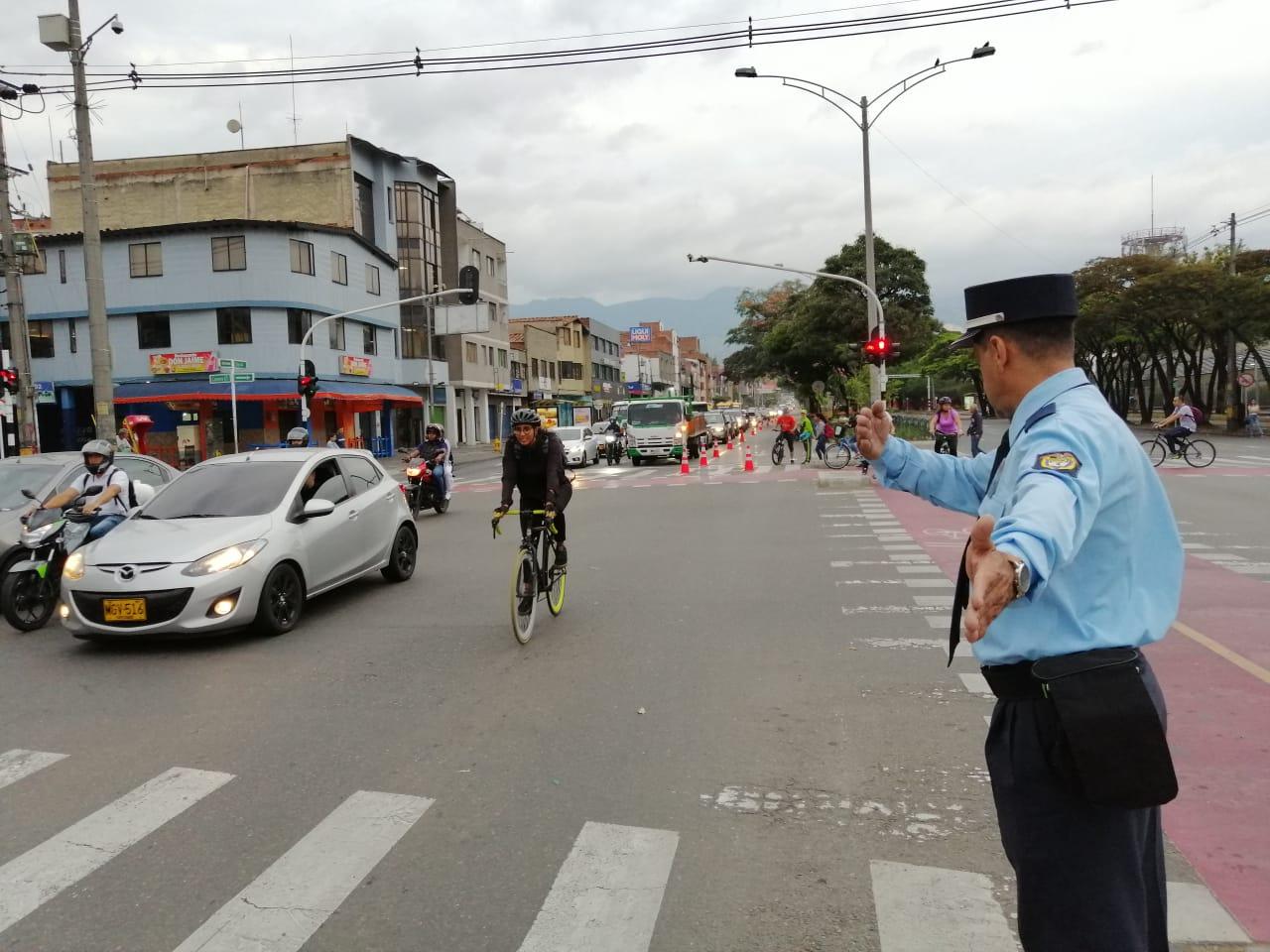 Activan ciclovías temporales en San Juan y la carrera 65 de Medellín
