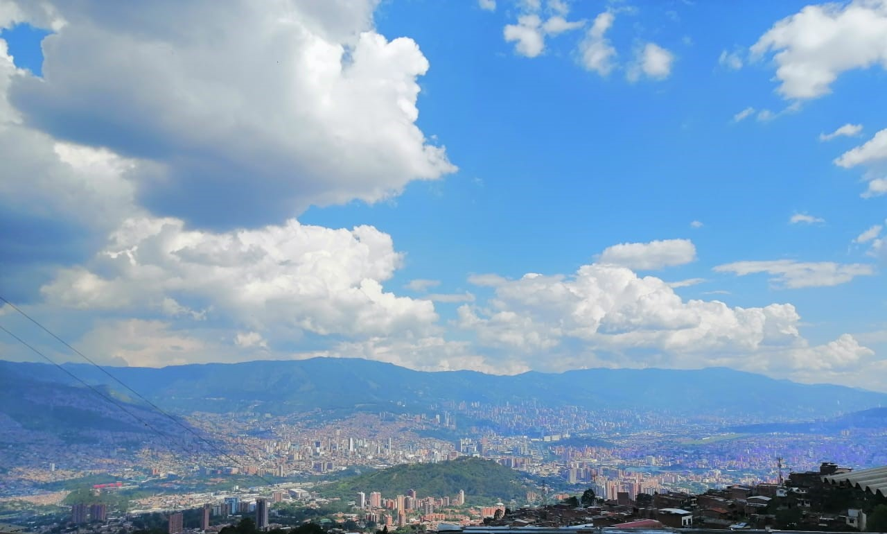 """Hoy la calidad del aire en Medellín es """"favorable para la salud"""""""