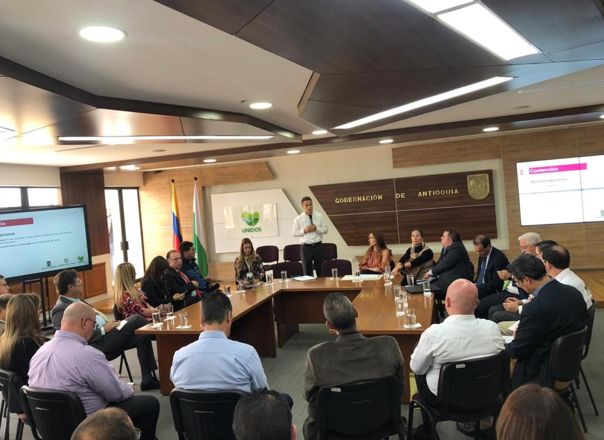 Comisión del Instituto Nacional de Salud visitó Medellín por coronavirus