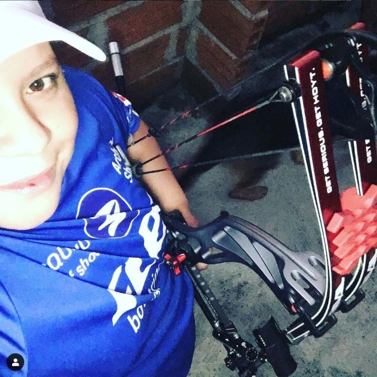 Alejandra Usquiano sigue entrenamientos desde casa en cuarentena