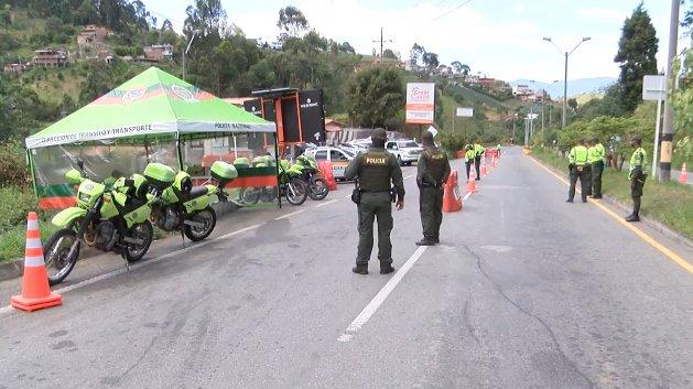 Más de 5.800 personas han sido sancionadas en las vías de Antioquia