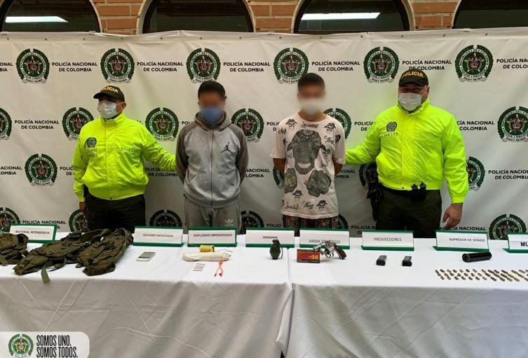 """Capturados tres presuntos integrantes de """"Pachelly"""" y """"Niquía Camacol"""""""