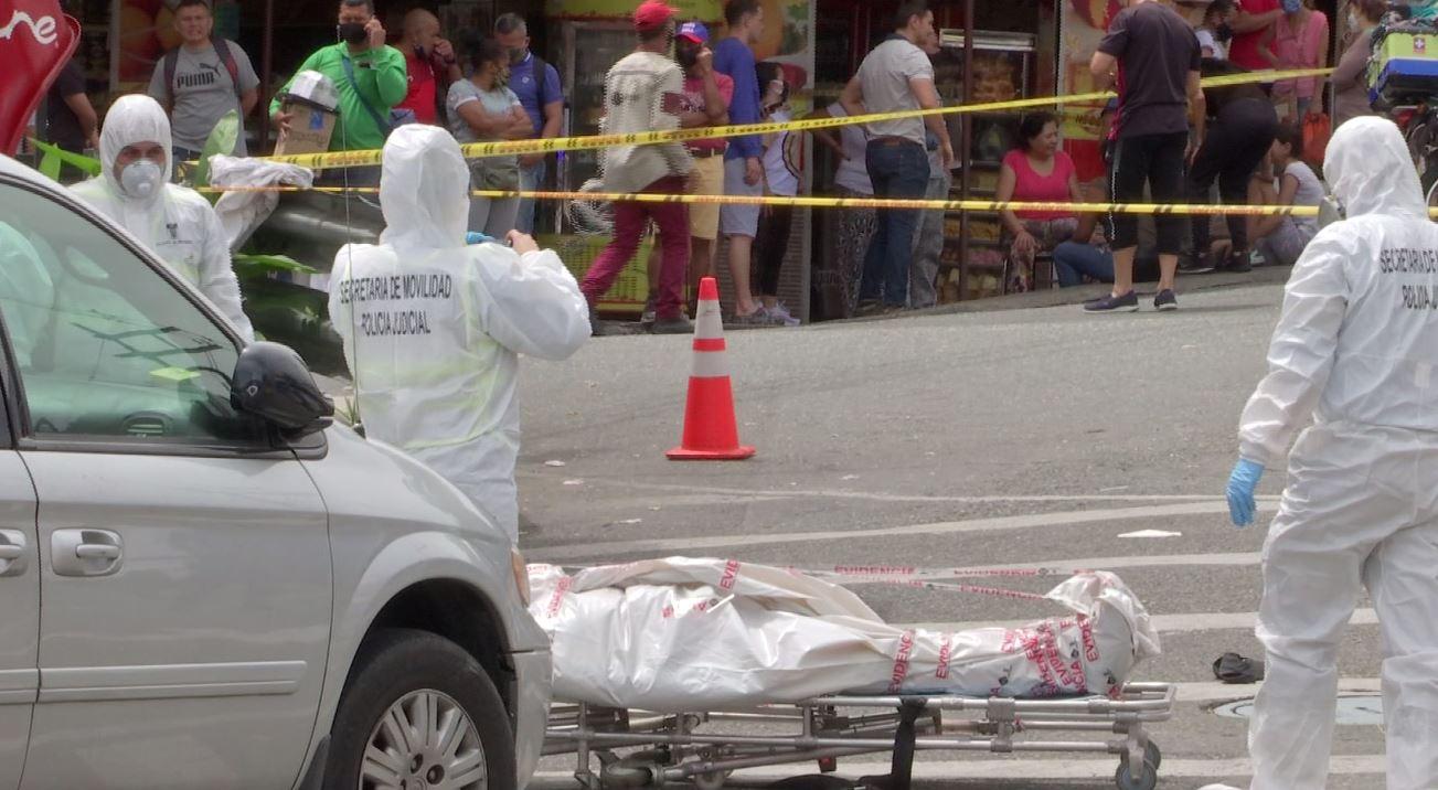 Incidentes viales en Medellín han disminuido en un 32 %
