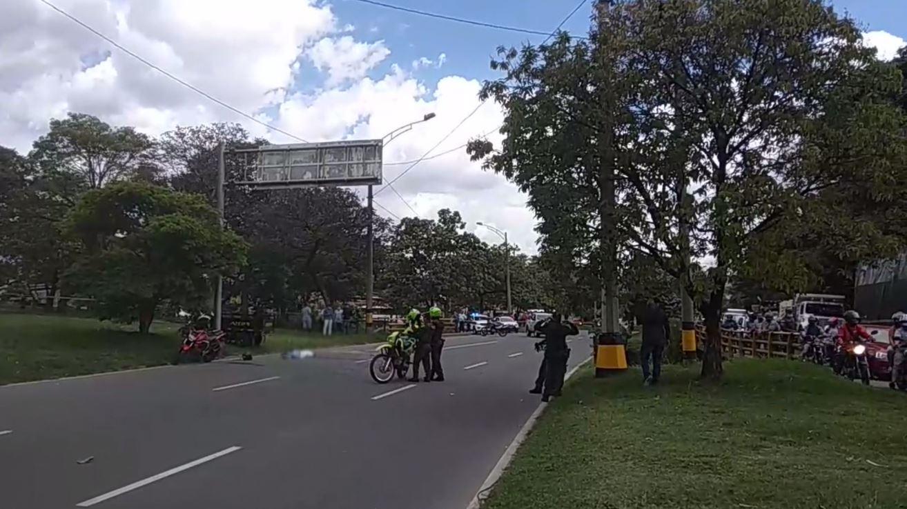 Persecución en el Centro de Medellín dejó dos muertos