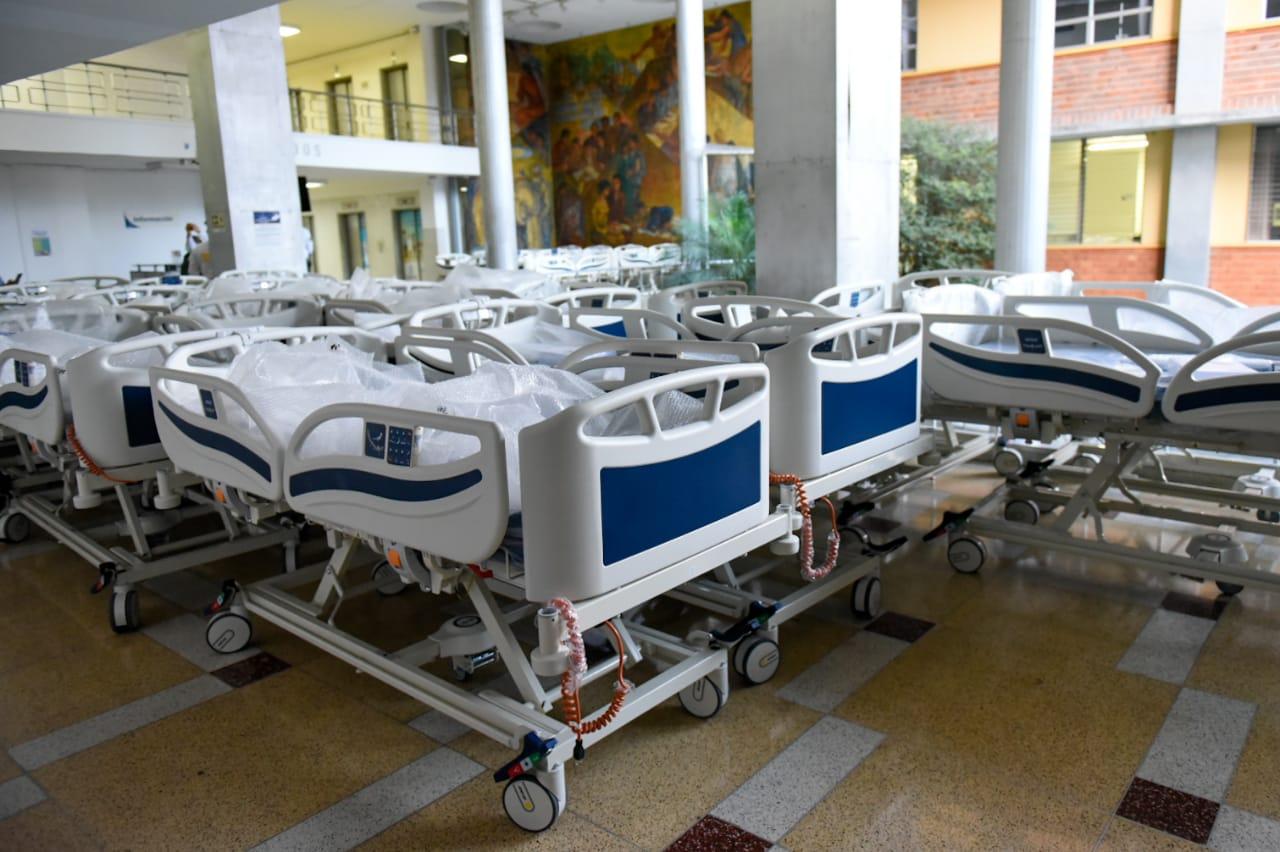 Aumentó la ocupación de camas UCI en Antioquia