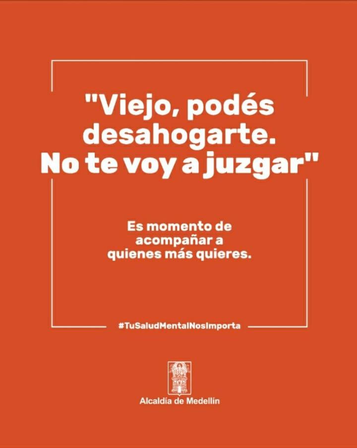 La Alcaldía de Medellín lanza campaña en pro de la salud mental