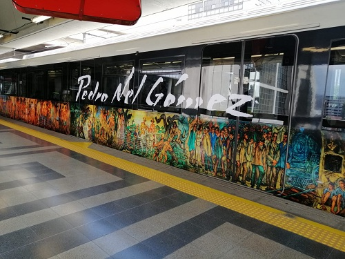 """El """"Tren de la cultura"""" ya recorre las estaciones del Metro de Medellín"""