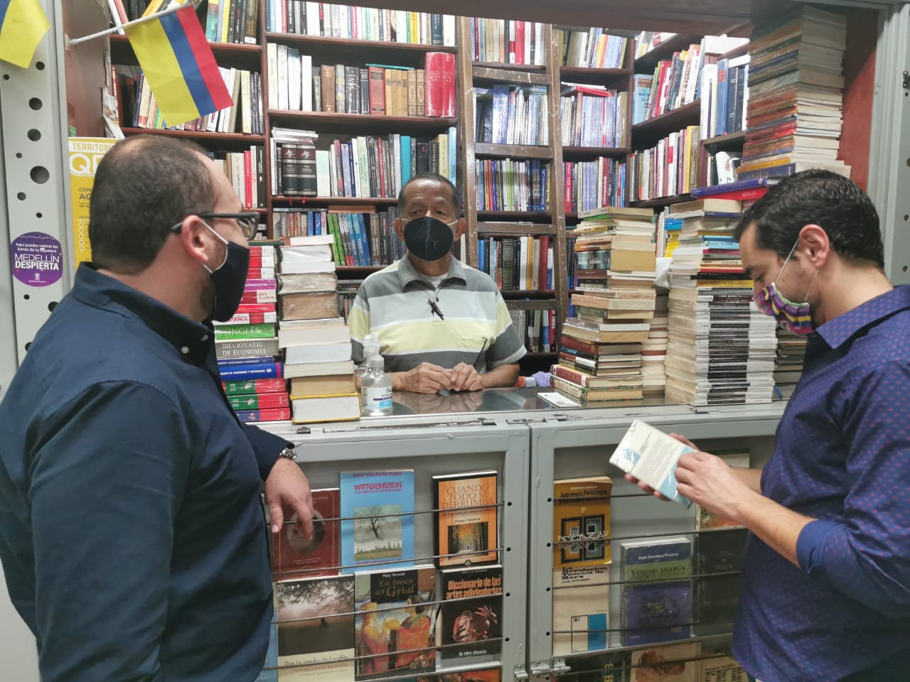 Abre sus puertas el Centro Comercial Popular del Libro y la Cultura