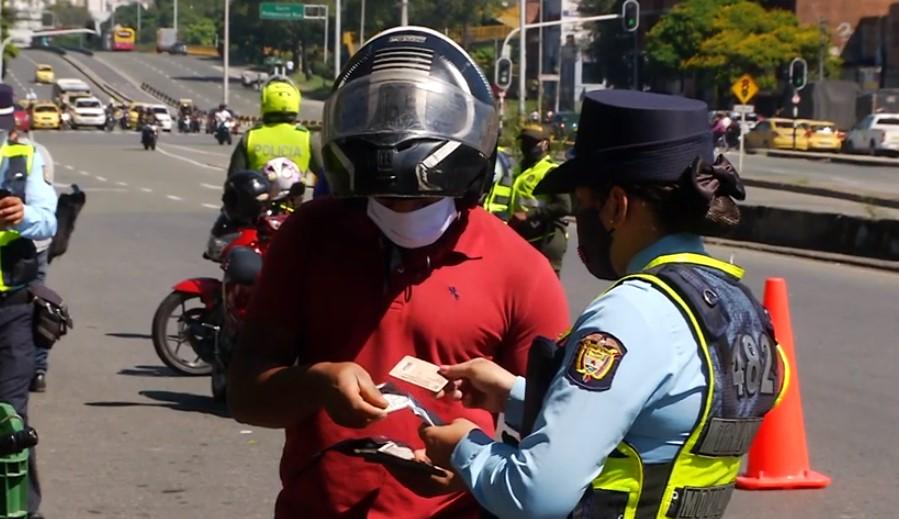 Descuentos de un 50 % en el capital de las multas de tránsito en Medellín