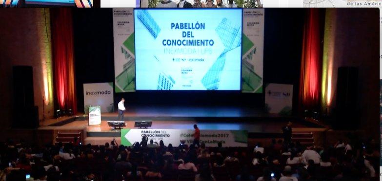 Finalizó el Pabellón del Conocimiento en Colombiamoda 2020