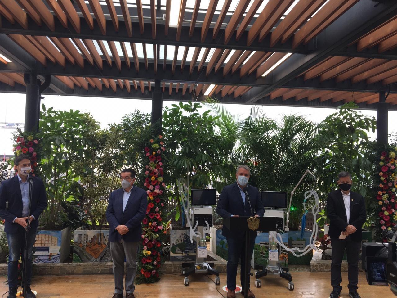 Presidente Duque destacó las estrategias de Medellín para enfrentar el COVID-19