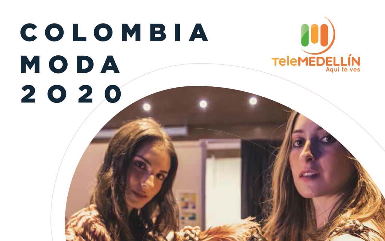 Con todos los protocolos de seguridad Telemedellín asumió el reto de cubrir Colombiamoda 2020