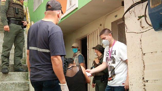 Alcaldía implementa estrategias para mitigar la propagación del virus en Robledo
