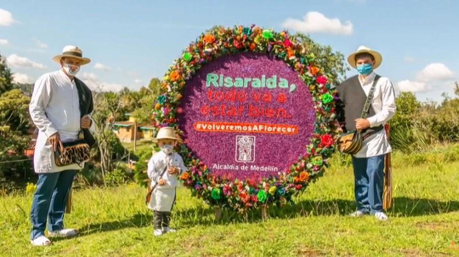 """La campaña """"Volveremos a Florecer"""" llegará a más ciudades como gesto de solidaridad"""