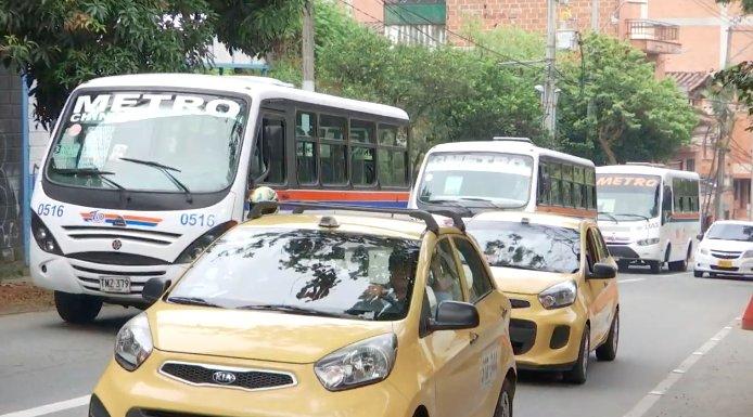 El sector de transporte de Envigado podrán acceder a microcréditos