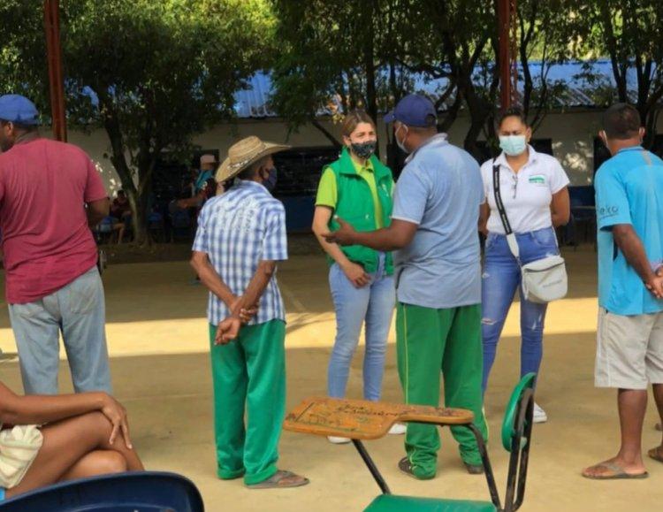 Al corregimiento El Guarumo llegaron 203 familias desplazadas en Bajo Cauca
