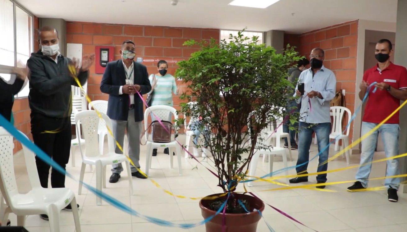 Medellín celebró el Día de la Democracia