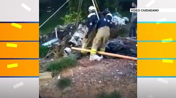 Rescatan toro que había caído a un hueco en Rionegro