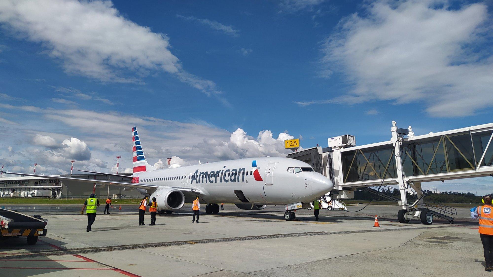 Llegó a Rionegro el primer vuelo procedente de Miami