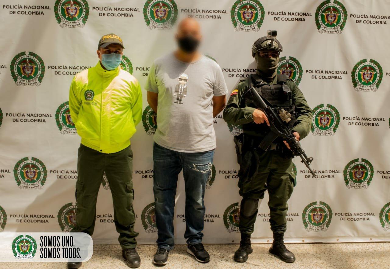 """Capturado alias """"El Mocho"""", supuesto cabecilla del grupo delincuencial """"La Terraza"""""""