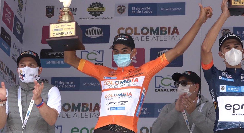 Diego Camargo, el nuevo campeón de la Vuelta a Colombia