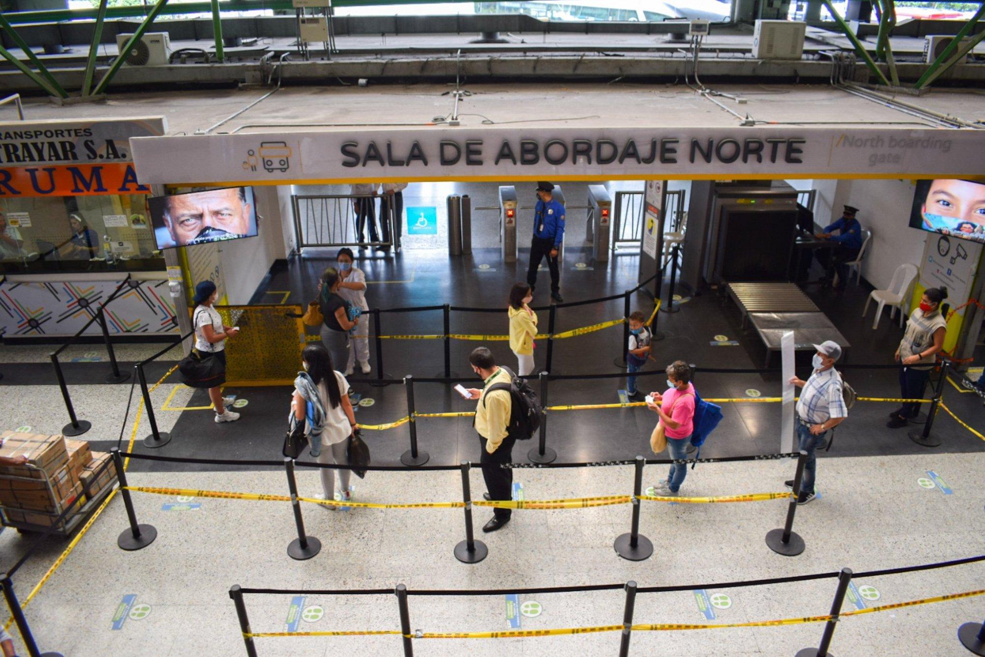 Ministerio de Transporte iniciará seguimiento de protocolos en terminales del país