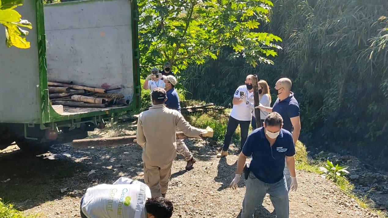 Seis toneladas de residuos sólidos y recuperables recuperaron en La Estrella