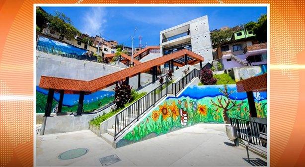 Escaleras eléctricas de la Comuna 13 serán replicadas en México