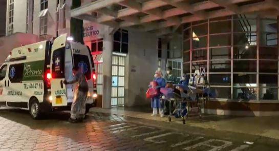 12 pacientes fueron evacuados por emergencia en el Hospital de Sabaneta