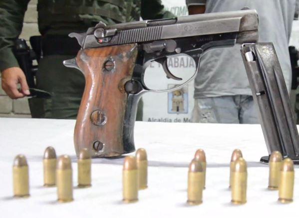 Hasta el 31 de diciembre en 91 municipios antioqueños habrá restricción para porte de armas