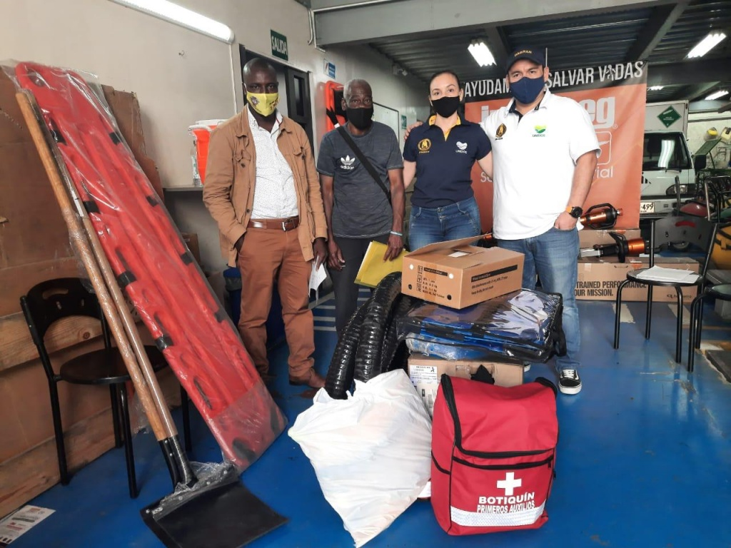 Gobernación de Antioquia entregó kits de equipos a 22 municipios para la atención de emergencias