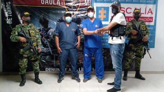 Autoridades rescatan Comisión Médica que fue secuestrada en Caucasia