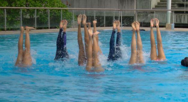 Colombia se prepara para sudamericano de natación artística