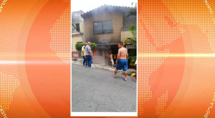 Incendio en Belén Las Mercedes dejó una vivienda afectada