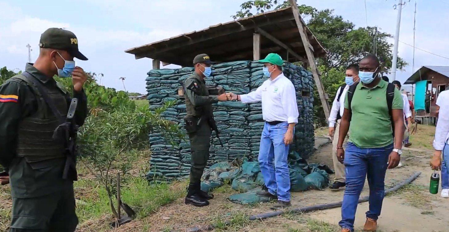 Ejército ya hace presencia en Murindó