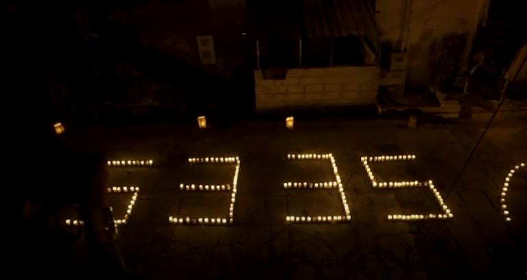 Con velatón habitantes de San Antonio de Prado rindieron homenaje a fallecidos por covid