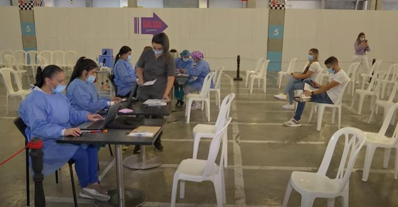 CC Florida se convierte en el sexto megapunto de vacunación en Medellín